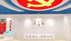宁津地税局展厅