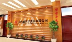 山东省安华瓷业展厅